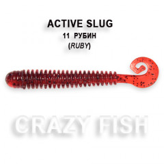 Мягкая приманка Crazy Fish ACTIVE SLUG 2-7.1-11-6