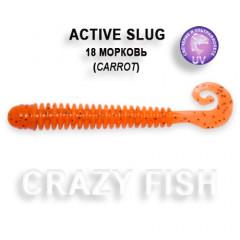 Мягкая приманка Crazy Fish ACTIVE SLUG 2-7.1-18-6