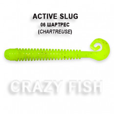 Мягкая приманка Crazy Fish ACTIVE SLUG 2-7.1-6-6