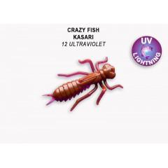 """Силиконовые приманки Crazy Fish Kasari 1.6"""" 51-40-12-7-F"""