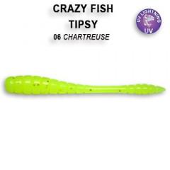 """Силиконовые приманки Crazy Fish Tipsy 2"""" 9-50-6-6"""