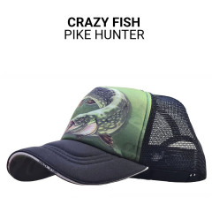 Кепка тракер Crazy Fish Pike Hunter S (kid size)
