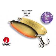 Колеблющаяся блесна Crazy Fish Sly 9гр #13-BGO