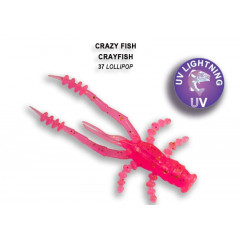 "Силиконовая приманка Crazy Fish Crayfish 1.8"" 26-45-37-6"