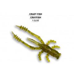 Мягкая приманка Crazy Fish CRAYFISH 26-45-1-4