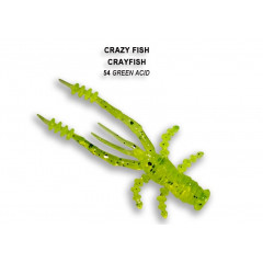 Мягкая приманка Crazy Fish CRAYFISH 26-45-54-6