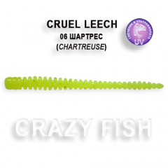 Мягкая приманка Crazy Fish CRUEL LEECH 8-5.5-6-4