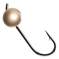Вольфрамовая джиг-головка Crazy Fish 0,75г цвет золото 4шт.