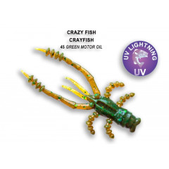 "Силиконовая приманка Crazy Fish Crayfish 1.8"" 26-45-45-6"