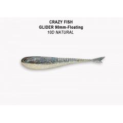"""Силиконовая приманка Crazy Fish Glider 3.5"""" 36-90-10d-6-F"""