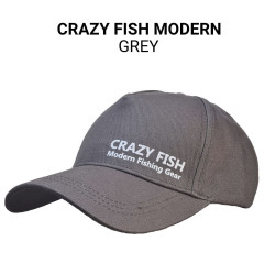 Кепка Crazy Fish Modern grey M