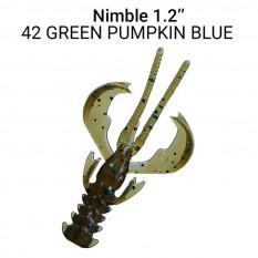 """Силиконовые приманки Crazy Fish Nimble 1.2"""" 76-30-42-5"""