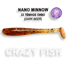 Виброхвост Crazy Fish NANO MINNOW 2.2 22-5.5-32-4