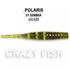 Мягкая приманка Crazy Fish POLARIS 5-4.5-1-5