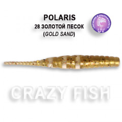 Мягкая приманка Crazy Fish POLARIS 5-4.5-28-6