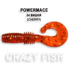 Твистер Crazy Fish POWER MACE 10-4-4-6