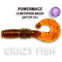 Твистер Crazy Fish POWER MACE 10-4-10-1
