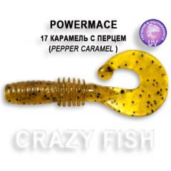Твистер Crazy Fish POWER MACE 10-4-17-1