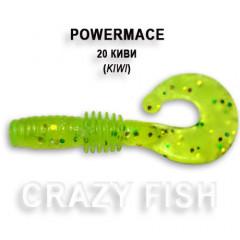 Твистер Crazy Fish POWER MACE 10-4-20-1