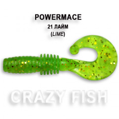 Твистер Crazy Fish POWER MACE 10-4-21-1