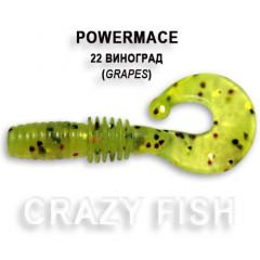 Твистер Crazy Fish POWER MACE 10-4-22-6