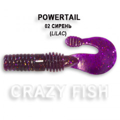 Твистер Crazy Fish POWERTAIL 4-7-2-4