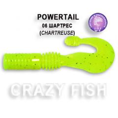 Твистер Crazy Fish POWERTAIL 4-7-6-4