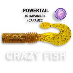 Твистер Crazy Fish POWERTAIL 4-7-9-6