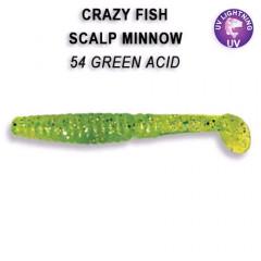 """Силиконовые приманки Crazy Fish Scalp Minnow 4"""" 18-100-54-6"""