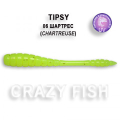 Мягкая приманка Crazy Fish TIPSY 9-5-6-4