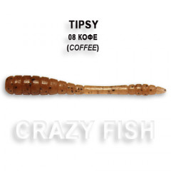 Мягкая приманка Crazy Fish TIPSY 9-5-8-6