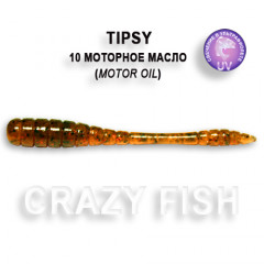 Мягкая приманка Crazy Fish TIPSY 9-5-10-1