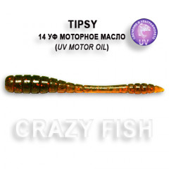 Мягкая приманка Crazy Fish TIPSY 9-5-14-6