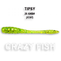 Мягкая приманка Crazy Fish TIPSY 9-5-20-6
