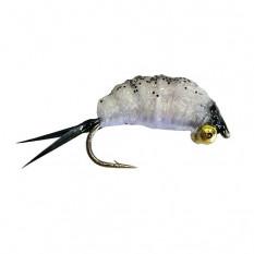 Мормышка вольфрамовая имитирующая мормыша M2 с петелькой 2,5 мм, цвет 19