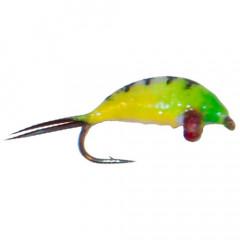 Мормышка вольфрамовая имитирующая мормыша M2 с петелькой 2,5 мм, цвет 22