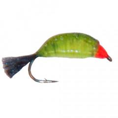 Мормышка вольфрамовая имитирующая мормыша M4 с петелькой 2,5 мм, цвет 26
