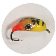 Мормышка вольфрамовая имитирующая мормыша M5 с петелькой 3,0 мм, цвет 27