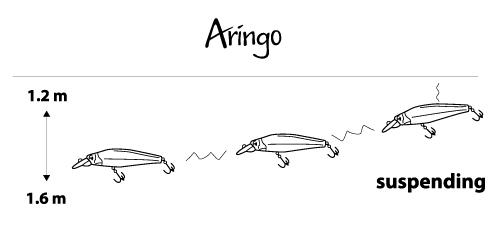 Воблер Mottomo Aringo 130SP