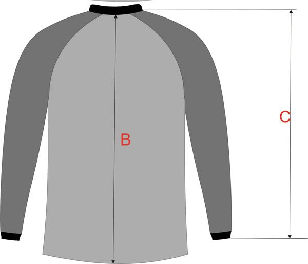 Таблица для определения размера одежды Mottomo