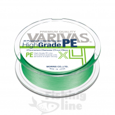 Плетёный шнур Varivas High Grade PEx4 Green 150m #2.0/30lb