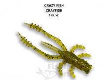 Мягкая приманка Crazy Fish CRAYFISH 26-45-1-4