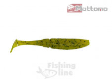 Виброхвост Mottomo Typhoon 8,5см Chartreuse Yellow Pepper 10шт.