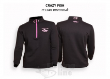 Джерси флисовый Crazy Fish Cotton - L