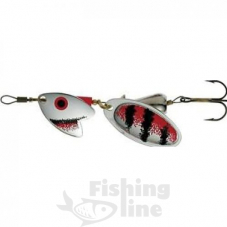 Блесна Mepps TROUT TANDEM Silver/Red-Black№2