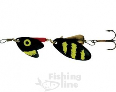Блесна Mepps TROUT TANDEM Black/Yellow№1