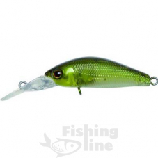 Воблер JACKALL Diving Chubby Minnow 35SP 2,7g ghost ayu