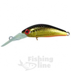 Воблер JACKALL Diving Chubby Minnow 35SP 2,7g hl gold&black
