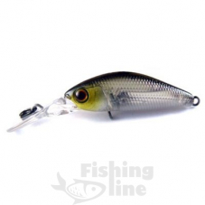 Воблер JACKALL Diving Chubby Minnow 35SP 2,7g ghost wakasagi